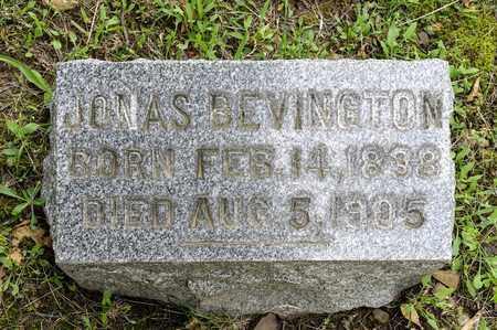 BEVINGTON, JONAS - Wayne County, Ohio | JONAS BEVINGTON - Ohio Gravestone Photos
