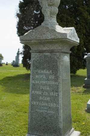 WOLGAMOTT BEVINGTON, SARAH - Wayne County, Ohio | SARAH WOLGAMOTT BEVINGTON - Ohio Gravestone Photos