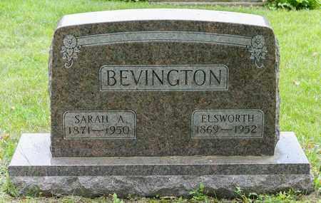 BEVINGTON, ELSWORTH - Wayne County, Ohio | ELSWORTH BEVINGTON - Ohio Gravestone Photos