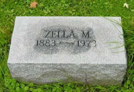 BEVINGTON, ZELLA M. - Wayne County, Ohio | ZELLA M. BEVINGTON - Ohio Gravestone Photos