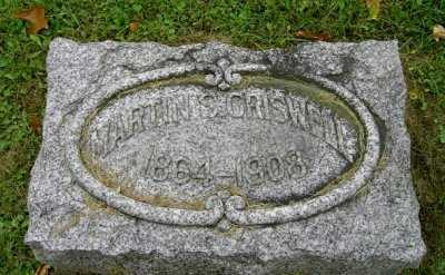 CRISWELL, MARTIN S. - Wayne County, Ohio   MARTIN S. CRISWELL - Ohio Gravestone Photos