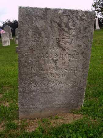 DAGUE, ELIZABETH - OVERALL VIEW - Wayne County, Ohio   ELIZABETH - OVERALL VIEW DAGUE - Ohio Gravestone Photos