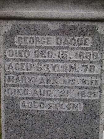 DAGUE, MARY ANN - CLOSEVIEW - Wayne County, Ohio | MARY ANN - CLOSEVIEW DAGUE - Ohio Gravestone Photos