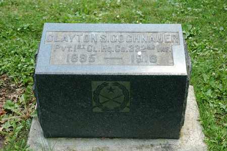 GOCHNAUER, CLAYTON S. - Wayne County, Ohio   CLAYTON S. GOCHNAUER - Ohio Gravestone Photos