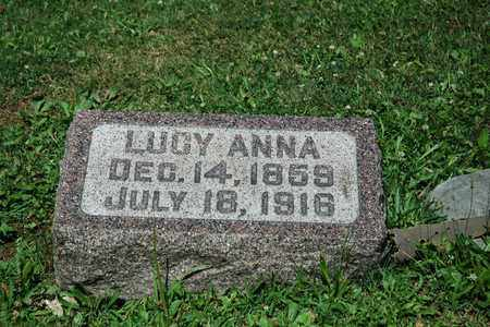 GOCHNAUER, LUCY ANNA - Wayne County, Ohio   LUCY ANNA GOCHNAUER - Ohio Gravestone Photos