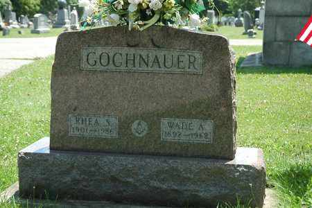 GOCHNAUER, WADE ALVIN - Wayne County, Ohio | WADE ALVIN GOCHNAUER - Ohio Gravestone Photos