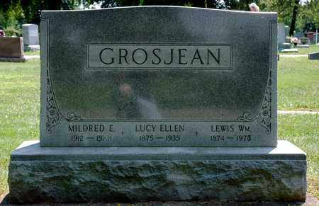 GROSJEAN, LUCY ELLEN - Wayne County, Ohio | LUCY ELLEN GROSJEAN - Ohio Gravestone Photos
