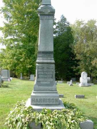 HARRISON, JOHN F. - Wayne County, Ohio | JOHN F. HARRISON - Ohio Gravestone Photos