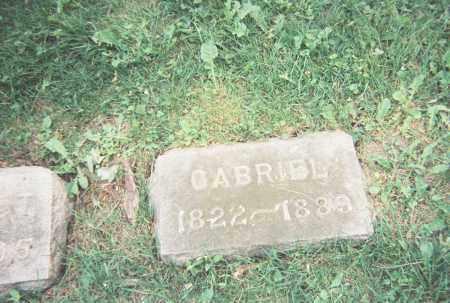 HENNINGER, GABRIEL - Wayne County, Ohio | GABRIEL HENNINGER - Ohio Gravestone Photos