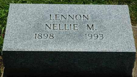LENNON, NELLIE M. - Wayne County, Ohio   NELLIE M. LENNON - Ohio Gravestone Photos