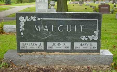 MALCUIT, MARY E. - Wayne County, Ohio | MARY E. MALCUIT - Ohio Gravestone Photos