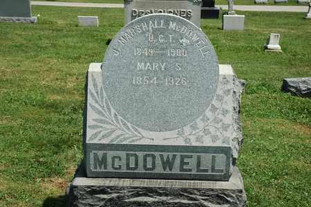 MCDOWELL, MARY S. - Wayne County, Ohio | MARY S. MCDOWELL - Ohio Gravestone Photos