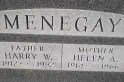 MENEGAY, HARRY WENDELL - Wayne County, Ohio | HARRY WENDELL MENEGAY - Ohio Gravestone Photos