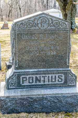 STUTZMAN PONTIUS, LILLIE - Wayne County, Ohio | LILLIE STUTZMAN PONTIUS - Ohio Gravestone Photos