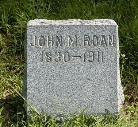 ROAN, JOHN M - Wayne County, Ohio | JOHN M ROAN - Ohio Gravestone Photos