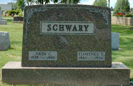 BRICKER SCHWARY, FLORENCE E. - Wayne County, Ohio   FLORENCE E. BRICKER SCHWARY - Ohio Gravestone Photos