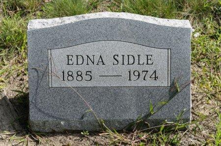 SIDLE, EDNA - Wayne County, Ohio | EDNA SIDLE - Ohio Gravestone Photos