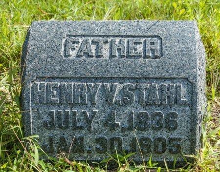 STAHL, HENRY V - Wayne County, Ohio   HENRY V STAHL - Ohio Gravestone Photos
