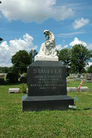 STAUFFER, MARTHA J. - Wayne County, Ohio   MARTHA J. STAUFFER - Ohio Gravestone Photos