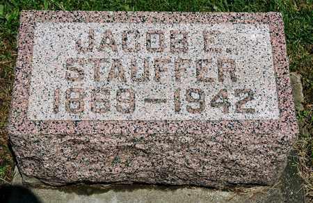 STAUFFER, JACOB E. - Wayne County, Ohio | JACOB E. STAUFFER - Ohio Gravestone Photos