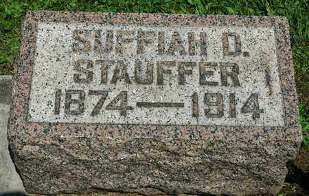 STAUFFER, SUFFIAH D. - Wayne County, Ohio | SUFFIAH D. STAUFFER - Ohio Gravestone Photos
