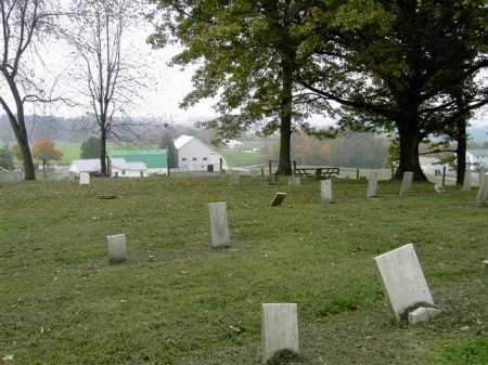 THOMPSON, CEMETERY - VIEW 1 - Wayne County, Ohio | CEMETERY - VIEW 1 THOMPSON - Ohio Gravestone Photos