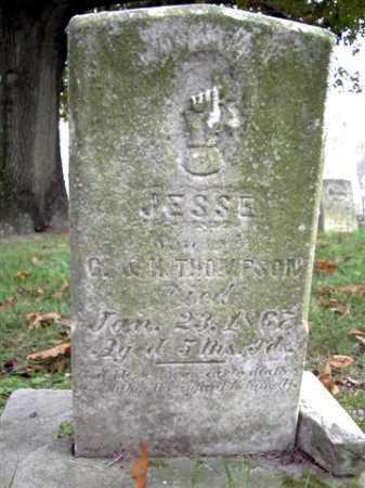 THOMPSON, JESSE - Wayne County, Ohio | JESSE THOMPSON - Ohio Gravestone Photos