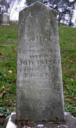 THOMPSON, JOSEPH - Wayne County, Ohio   JOSEPH THOMPSON - Ohio Gravestone Photos