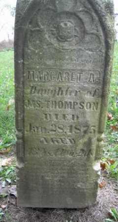 THOMPSON, MARGARET - Wayne County, Ohio   MARGARET THOMPSON - Ohio Gravestone Photos