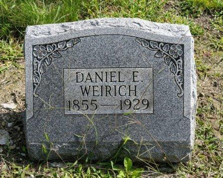 WEIRICH, DANIEL E - Wayne County, Ohio | DANIEL E WEIRICH - Ohio Gravestone Photos