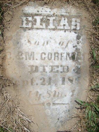 CORFMAN, ELIAS - Wyandot County, Ohio | ELIAS CORFMAN - Ohio Gravestone Photos
