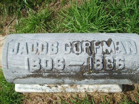 CORFMAN, JACOB - Wyandot County, Ohio | JACOB CORFMAN - Ohio Gravestone Photos