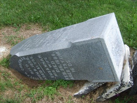 CORFMAN, SUSANNAH - Wyandot County, Ohio   SUSANNAH CORFMAN - Ohio Gravestone Photos