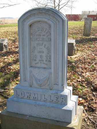 LOWMILLER, HARRIET - Wyandot County, Ohio | HARRIET LOWMILLER - Ohio Gravestone Photos