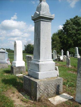NIEBEL, ENOS - Wyandot County, Ohio   ENOS NIEBEL - Ohio Gravestone Photos