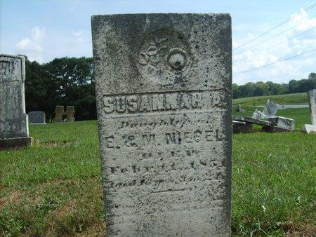 NIEBEL, SUSANNAH A - Wyandot County, Ohio | SUSANNAH A NIEBEL - Ohio Gravestone Photos