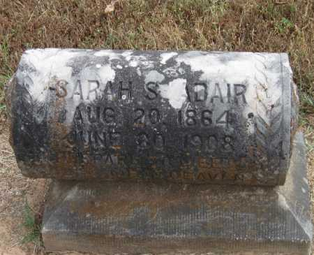 ROSS ADAIR, SARAH STAPLER - Adair County, Oklahoma   SARAH STAPLER ROSS ADAIR - Oklahoma Gravestone Photos