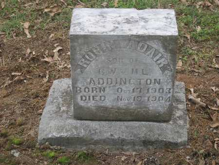 ADDINGTON, ROBIN ADAIR - Adair County, Oklahoma   ROBIN ADAIR ADDINGTON - Oklahoma Gravestone Photos