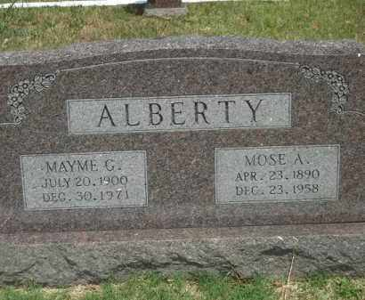ALBERTY, MAYME G - Adair County, Oklahoma | MAYME G ALBERTY - Oklahoma Gravestone Photos