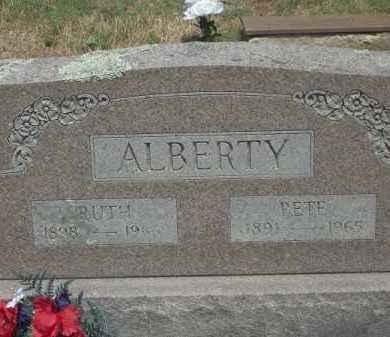 ALBERTY, PETE - Adair County, Oklahoma   PETE ALBERTY - Oklahoma Gravestone Photos