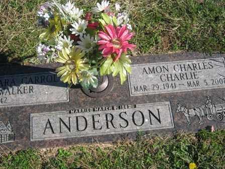ANDERSON, AMON CHARLES - Adair County, Oklahoma | AMON CHARLES ANDERSON - Oklahoma Gravestone Photos