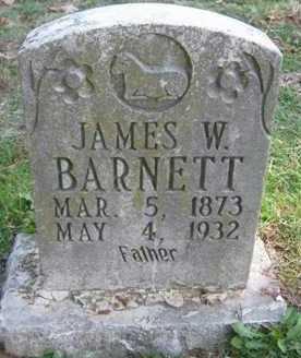 BARNETT, JAMES WILLIAM - Adair County, Oklahoma   JAMES WILLIAM BARNETT - Oklahoma Gravestone Photos