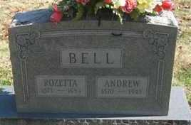 BELL, ROSETTA - Adair County, Oklahoma   ROSETTA BELL - Oklahoma Gravestone Photos