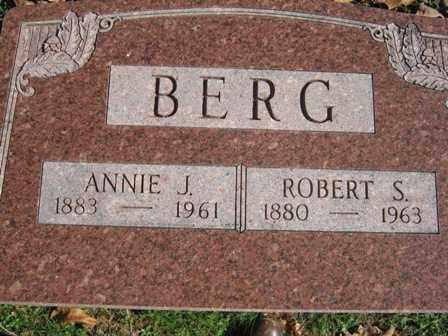 BERG, ANNIE JANE - Adair County, Oklahoma | ANNIE JANE BERG - Oklahoma Gravestone Photos