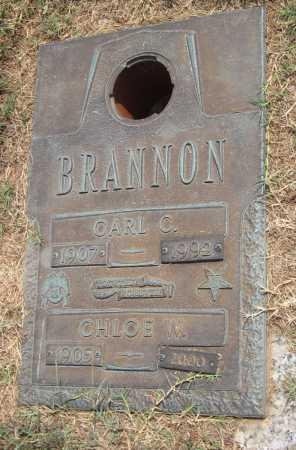 BRANNON, CHLOE W - Adair County, Oklahoma | CHLOE W BRANNON - Oklahoma Gravestone Photos