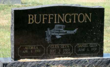 BUFFINGTON, GLEN OLYN - Adair County, Oklahoma   GLEN OLYN BUFFINGTON - Oklahoma Gravestone Photos