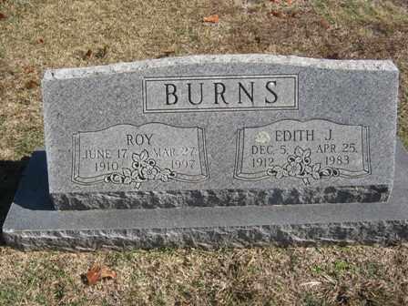 CANNON BURNS, EDITH J. - Adair County, Oklahoma | EDITH J. CANNON BURNS - Oklahoma Gravestone Photos