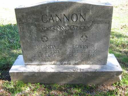 CANNON, LUCINDA JANE - Adair County, Oklahoma | LUCINDA JANE CANNON - Oklahoma Gravestone Photos