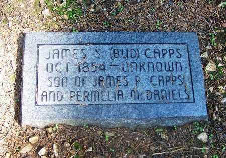 "CAPPS, JAMES S ""BUD"" - Adair County, Oklahoma | JAMES S ""BUD"" CAPPS - Oklahoma Gravestone Photos"