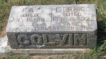 COLVIN, RAY - Adair County, Oklahoma | RAY COLVIN - Oklahoma Gravestone Photos